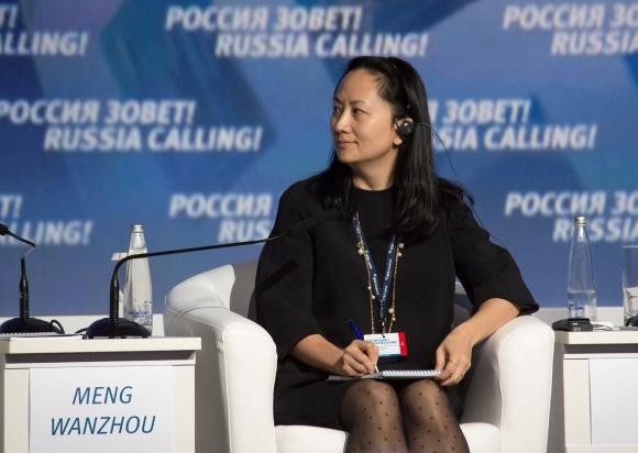 Wanzhou Meng, directora financiera de Huawei. Foto: Reuters