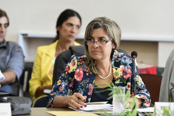 Adriana Peña, intendenta de Lavalleja. Foto: Darwin Borrelli.