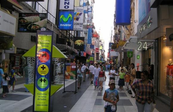 Peatonal Florida (Buenos Aires). Foto: Wikipedia