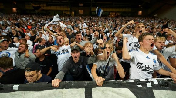 Hinchada del Copenhague FC