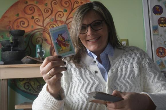 Astrologa Lourdes Ferro. Foto: Francisco Flores