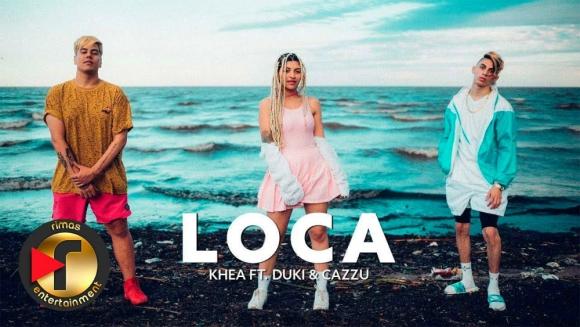 """Khea - """"Loca"""" (ft. Duki & Cazzu)"""