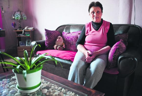 Mirna Tejera lleva 48 años viviendo en Sauce. Foto: F. Ponzetto