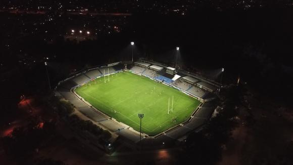 El Estadio Charrúa tendrá su primer partido de Los Teros en la noche. Foto: @Dronesporloalto.