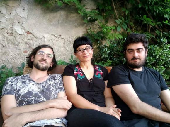 Patricia Turnes, Fabrizio Rossi Giordano, Flavio Lira. Foto: Miguel Recalde