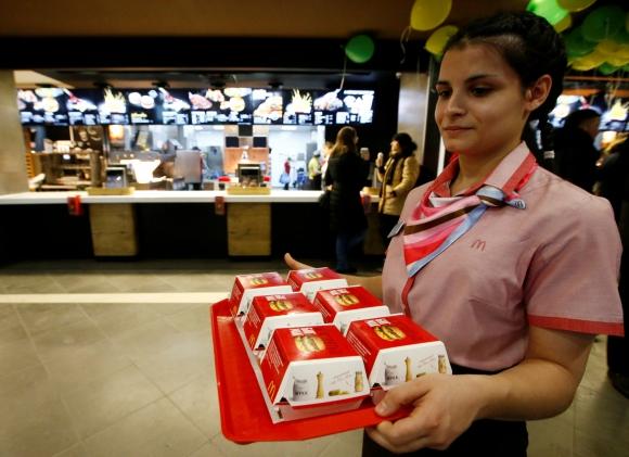 Big Mac. Foto. Reuters