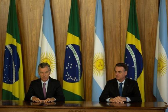 Ambos presidentes se reunieron en Brasilia. Foto: EFE