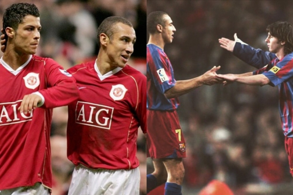 Henrik Larsson jugó en Manchester con Cristiano y en Barcelona con Messi