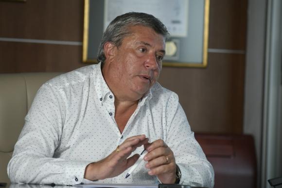 Juan Salgado, presidente de Cutcsa y asesor de Tabaré Vázquez. Foto: Leonardo Mainé