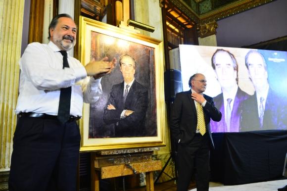 El centenario del nacimiento de Wilson Ferreira Aldunate concitó a figuras de la política. Foto: Gerardo Pérez