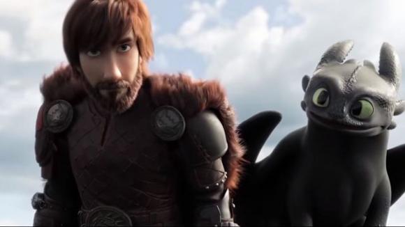 Imagen de la película Cómo entrenar a tu dragón 3