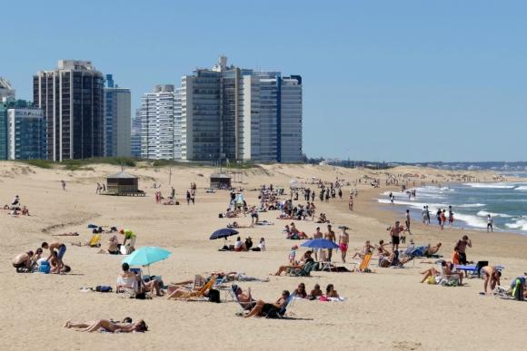Playas esteñas en calma. Foto: Ricardo Figueredo