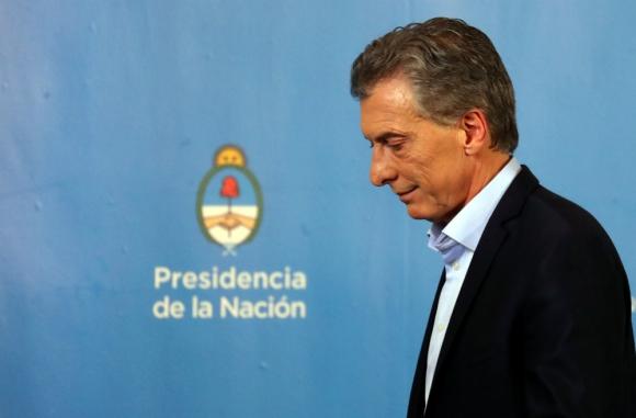 Situación. Mauricio Macri, por ahora, tiene 30% de intención de voto, pero podría crecer si la economía no sufre nuevos cimbronazos. Foto: Reuters.