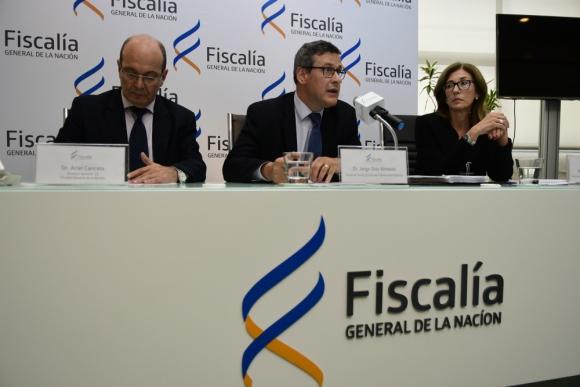 El fiscal de la Corte Jorge Díaz pidió mejorar cantidad y calidad de imputaciones. Foto. M. Bonjour