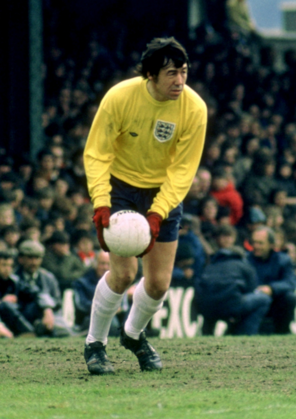 Gordon Banks, una leyenda de la Selección de Inglaterra