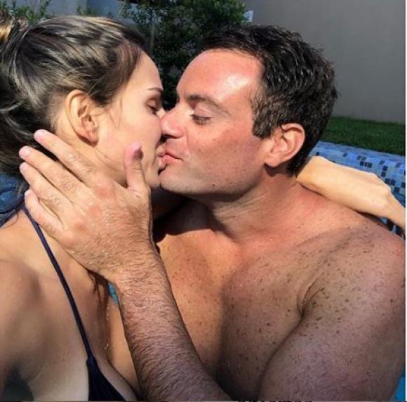 Martina Graf y su novio, más enamorados que nunca