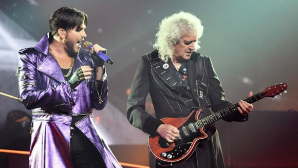 Queen y Adam Lambert participarán de la ceremonia de los Oscar. Foto: Getty Images.