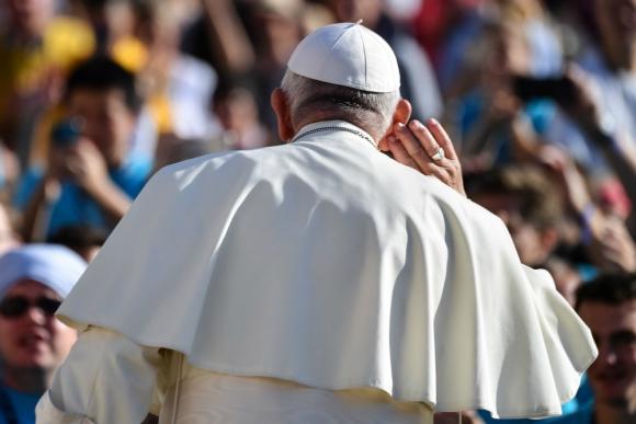 """Papa Francisco: """"El primer caso debe ser reconocer la verdad de lo que ha sucedido"""". Foto: AFP"""