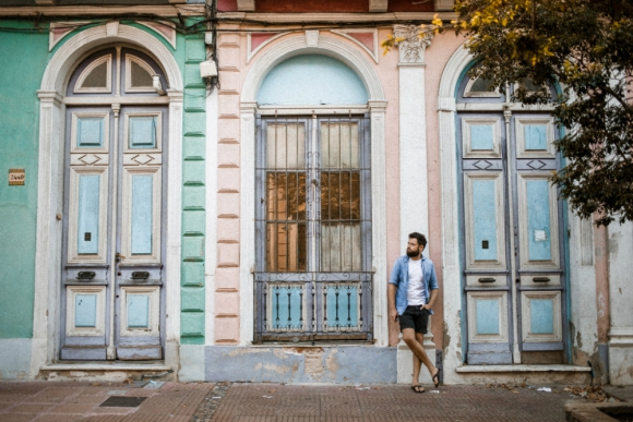 Passenger durante un paseo por Barrio Reus. Foto: Jarrad Seng.