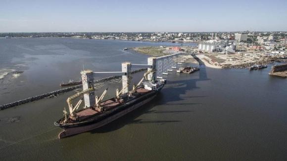 Puerto de Montevideo. Foto: Archivo El País