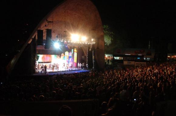 Teatro de Verano. Foto: Archivo El País
