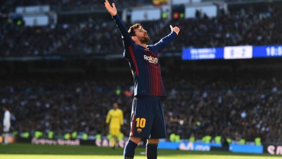 Lionel Messi es un rey dentro del Bernabéu. 6f1a5df40a913