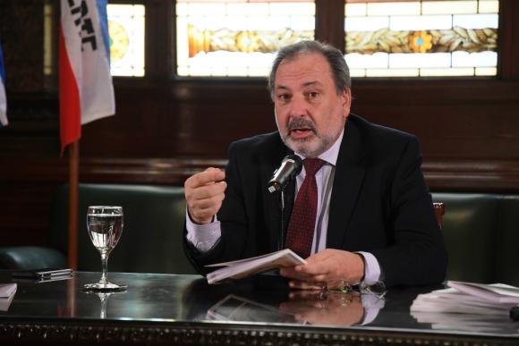 Jorge Gandini, presidente de la Cámara de Diputados. Foto: Leonardo Mainé.
