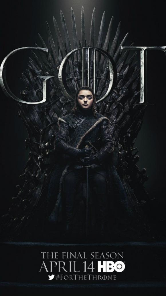 Arya Stark. Foto: HBO