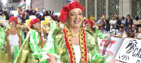 María Julia Muñoz en Imerio del Ayui