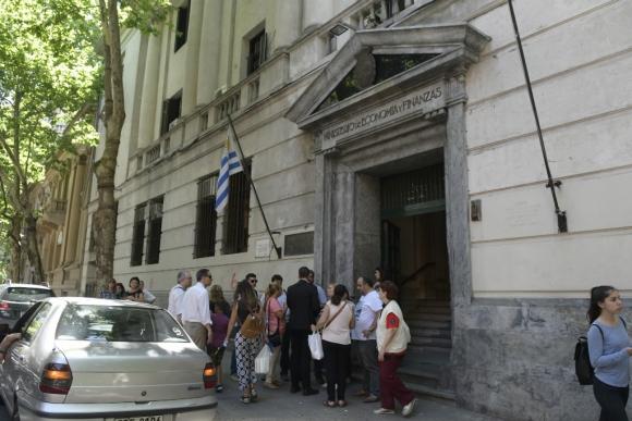 Ministerio de Economía. Foto: Marcelo Bonjour