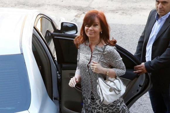 Cristina Fernández. Foto: La Nación | GDA