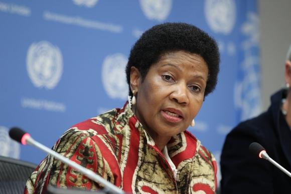 Phumzile Mlambo-Ngcuka, directora de ONU Mujeres. Foto: Naciones Unidas