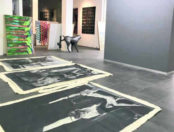 Galería de arte de Diana Saravia. Foto: Diana Saravia