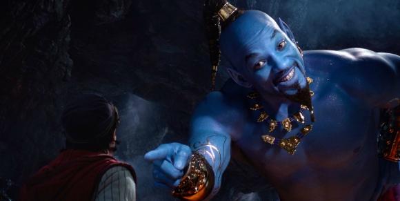 """Will Smith en el tráiler de """"Aladdin"""". Foto: Disney."""