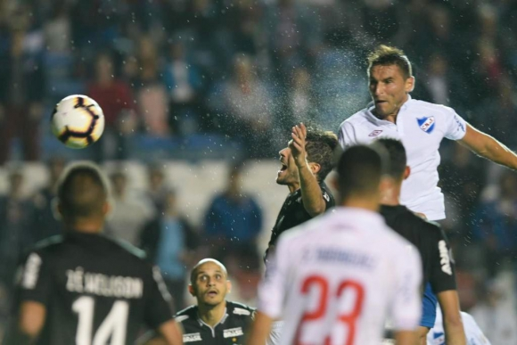 Gol de Bergessio a Mineiro