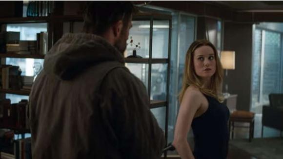 Thor y Capitana Marvel