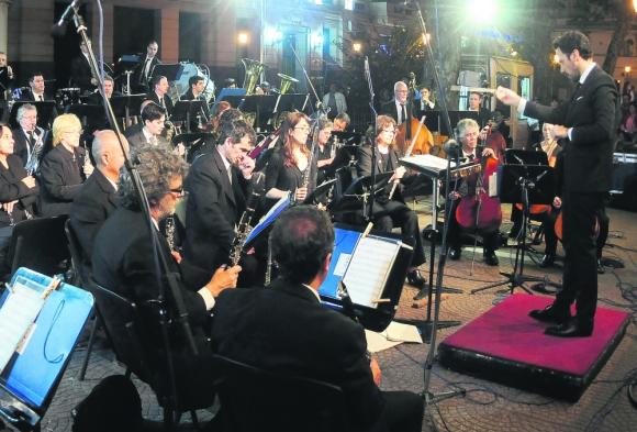 Excelencia. Martín Jorge volvió a destacar en el concierto. Foto: Fernando Ponzetto.