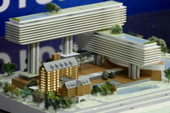 El proyecto del arquitecto Rafael Viñoly para el complejo del Grupo Cipriani. Foto: Ricardo Figueredo