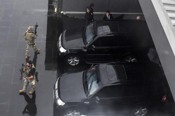 Temer este jueves. Foto: AFP