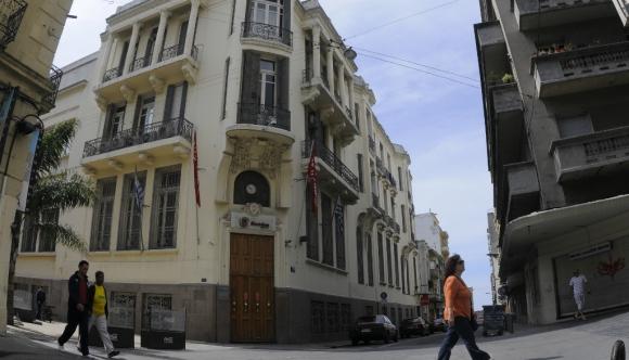 La filial uruguaya del banco estatal venezolano tendrá limitaciones para operar en el exterior. Foto: Francisco Flores