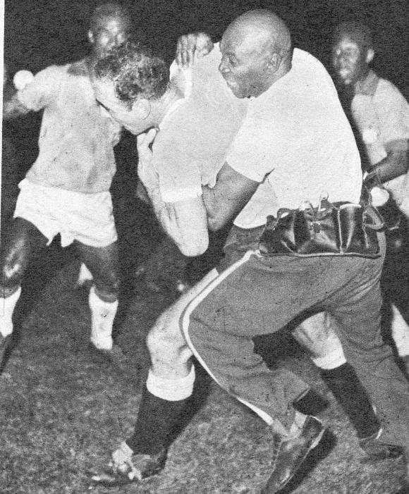 Pelea Uruguay - Brasil 1959