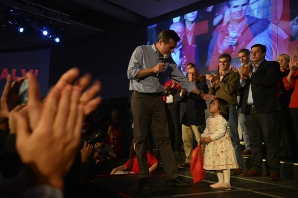 Ernesto Talvi lanzó su campaña y anunció contenidos de su programa de gobierno. Foto: Gerardo Pérez.