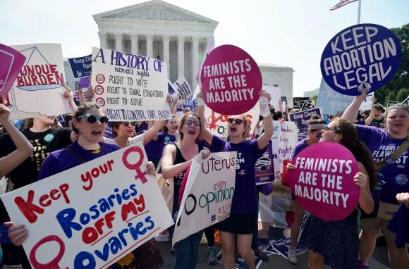 En Estados Unidos está creciendo el momento en contra de la interrupción del embarazo. Foto: AFP