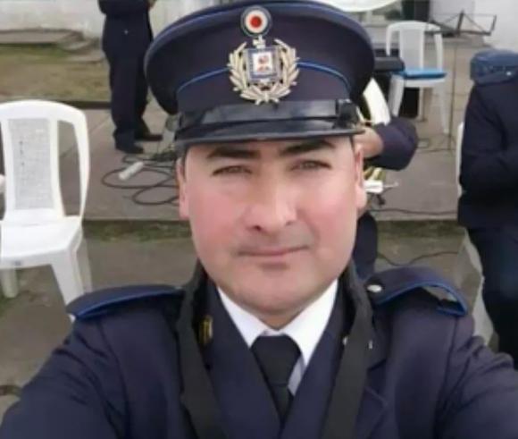 Fontes tenía 39 años, integraba la dirección de la Escuela Nacional de Policía y también era parte de la banda de música.