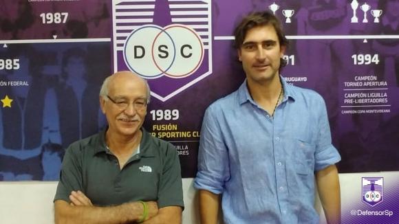 Ney Castillo y Andrés Fleurquin en Defensor Sporting