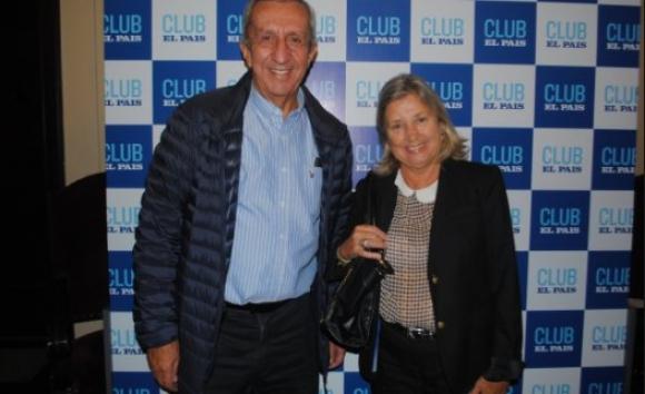 Jorge da Silveira y elena Bailño