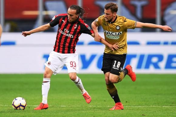Diego Laxalt ante Udinese