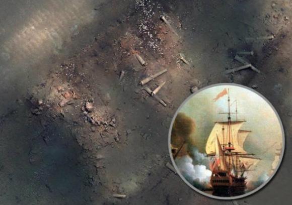 El galeón San José contiene uno de los mayores tesoros hundidos frente a las costas de Colombia. Foto: Archivo