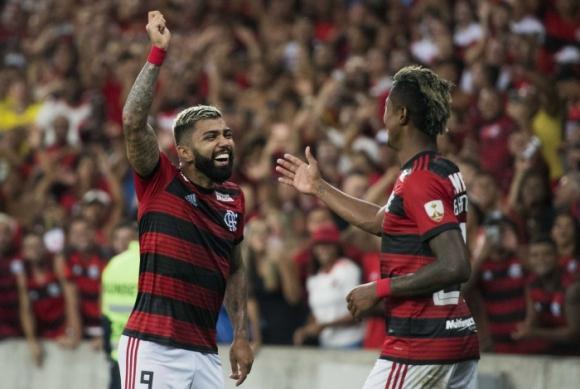 """El equipo """"Rubro Negro"""" ganó los dos partidos que jugó en la Libertadores. Foto: Flamengo."""