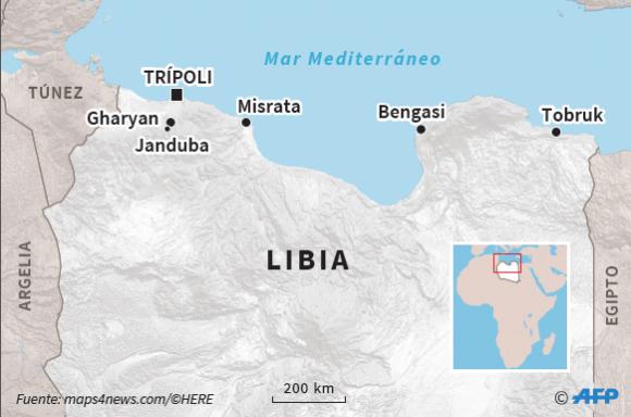 Libia. Foto: AFP